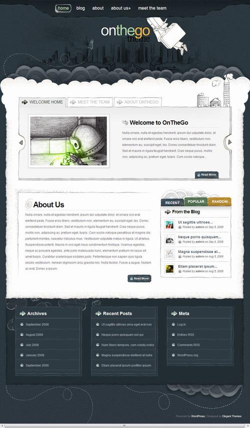 OnTheGo   ElegantThemes Premium WordPress Theme