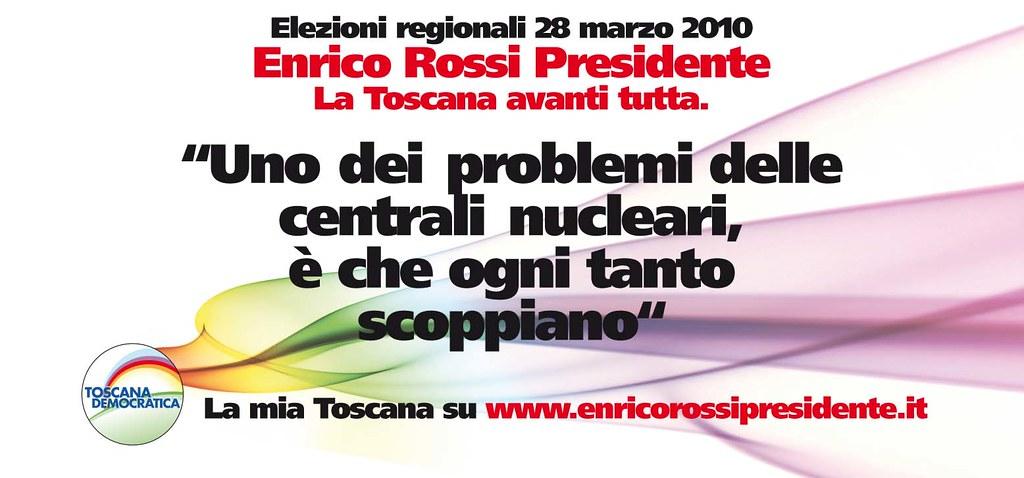 Enrico Rossi presidente