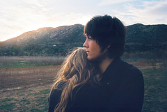 (emmily shaw) Tags: ca sunset lake mountains love engagement photos aaron land brooklynn watter hodges mears salvato