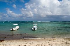 Boats in Half Moon Bay Akumal