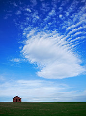 under pressure (ssj_george) Tags: blue sky cloud house brick green home nature field lens landscape view f14 14 cyprus panasonic fields pancake 20mm larnaca gf1  georgestavrinos  microfourthirds ssjgeorge