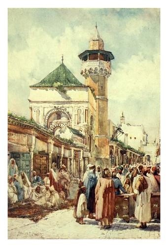 016-Mezquita de Sidi Ben Ziad en Túnez-Algeria and Tunis (1906)-Frances E. Nesbitt