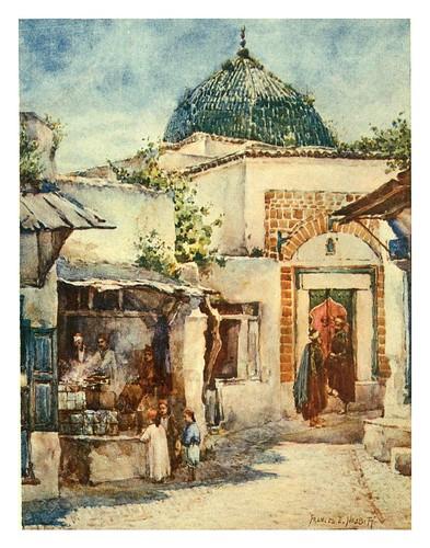 021-Una freiduria de buñuelos en Túnez-Algeria and Tunis (1906)-Frances E. Nesbitt