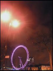 late nite reflections (erifeakman) Tags: london eye londonnight