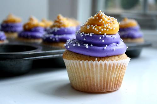 vikings cupcakes