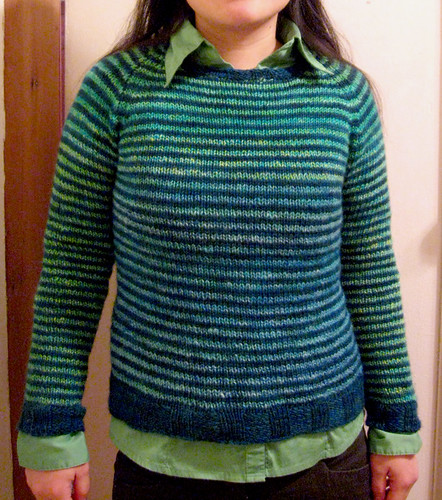 Striped Raglan from Color Style