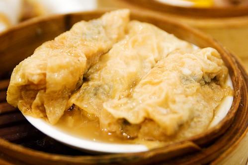 tofu skin wraps