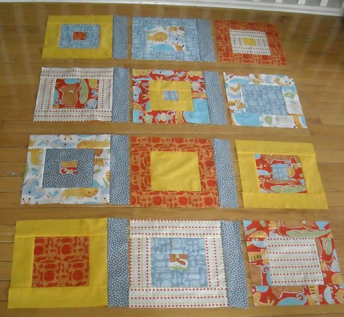 quilt as you go sashing instructions