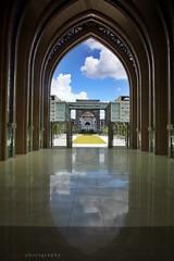 Door to other  world... (mr_asyraf) Tags: door putrajaya reflexions masjid reflextion besi flickraward