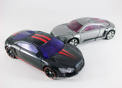 Transformers Dead End RotF Deluxe vs. Sideways - modo alterno
