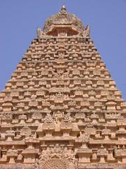 The architecture of the Gopuram