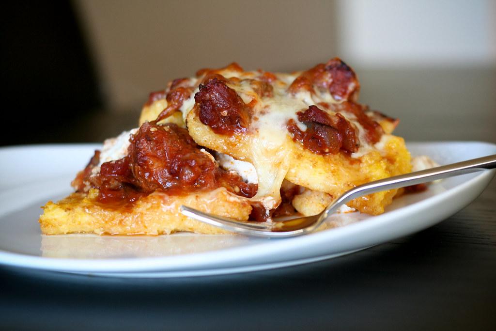 Stuffed Polenta