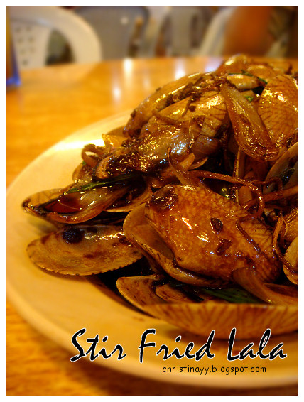 Penang Stir Fried Lala