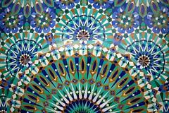 Hassan II Mosque, Casablanca, Mosaic (Alex E. Proimos) Tags: mosque morocco moorish casablanca hassan moroccan hassaniimosque proimos alexproimos