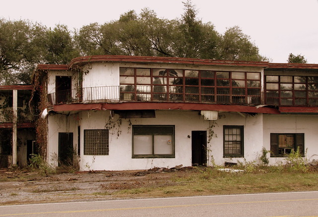 The remains of the Robert E. Lee Motel