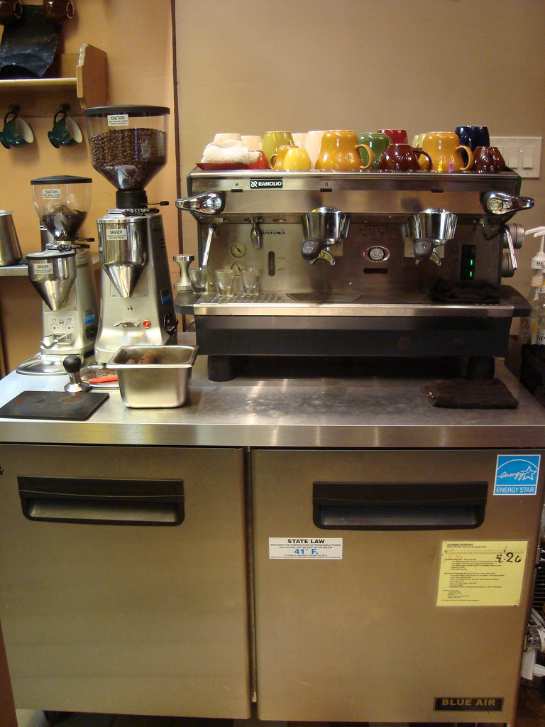 espresso station!