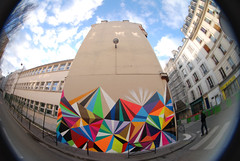 by MWM (Matt W. Moore) (lepublicnme) Tags: streetart paris france graffiti january fisheye 2009 peleng mwm mattwmoore