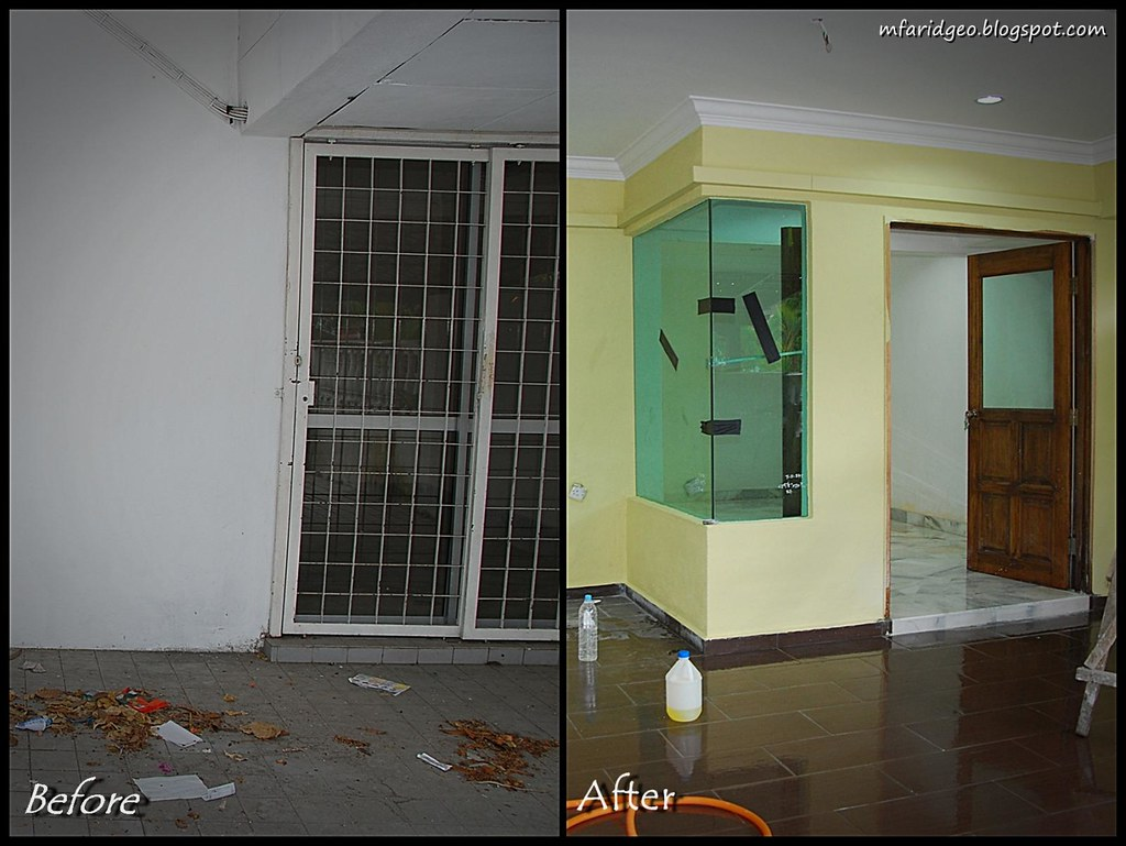 Time and Pressure: Renovation : Before & After