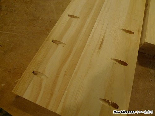 木工 床邊櫃-12