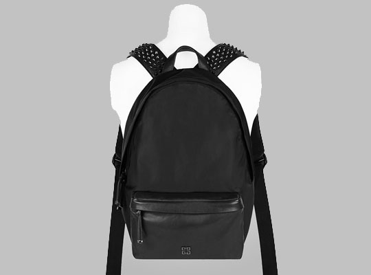 leather spiked backpack Backpack Tools
