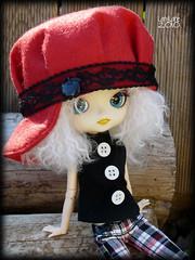 Happy birthday Gialla ! (.LanyLane.) Tags: bigeyes doll dal poupe plasticdoll junplanning dalhangry wigmohair