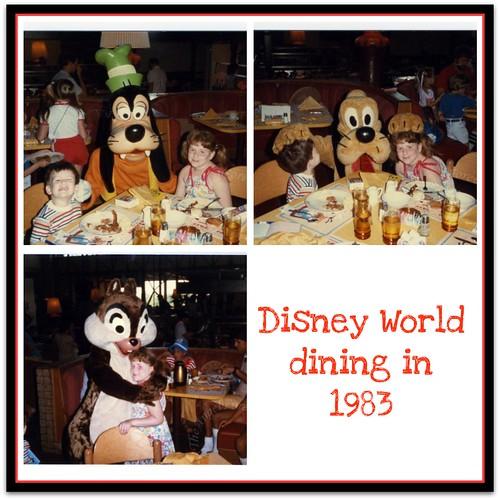 Character breakfast in 1983