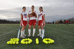 SFU's women's softball team sports Olympic logo
