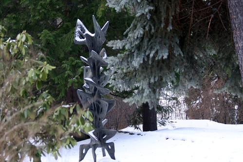 Hartung im Winterwald