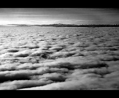 Above The Clouds (Steffen Jakob) Tags: sky bw mountain mountains berg clouds himmel wolke wolken berge alpen flyby gipfel nehmichan