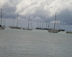 Lots of sailing yachts