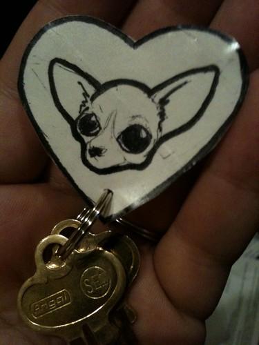 Thing a Day #5: Etta's Keychain