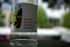 National Multicultural Festival - Bottle (Kincuri) Tags: water festival bottle canberra multicultural nationalmulticulturalfestival lumixgf1 20mmf17