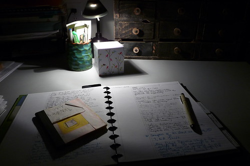 writing at night