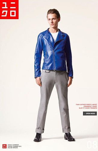 UNIQLO 0237_LOOK BOOK 2010 SPRING_Jakob Hybholt