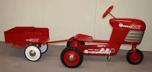Murray Pedal Tractor Restoration : Murray tractor clean cut creations vintage auto works