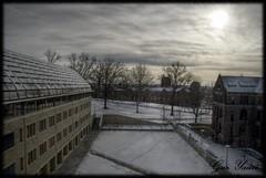 Science Hill - Yale University (yaari) Tags: winter sky sun snow university pentax yale hdr yaari impressedbeauty k20d justpentax