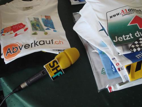 Schaffhauser Fernsehen berichtet über Ich trage Ihr T-Shirt
