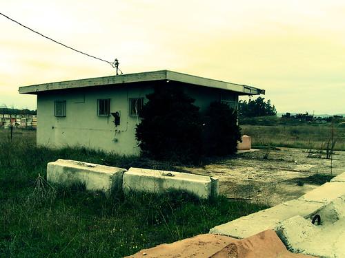 abandoned radio station