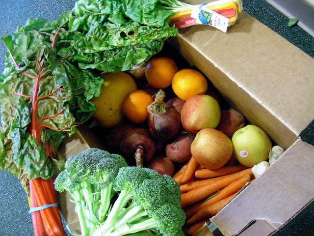 My second produce box from Glacier Valley Farm CSA