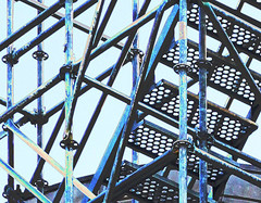 Scaffolding by vpickering, on Flickr