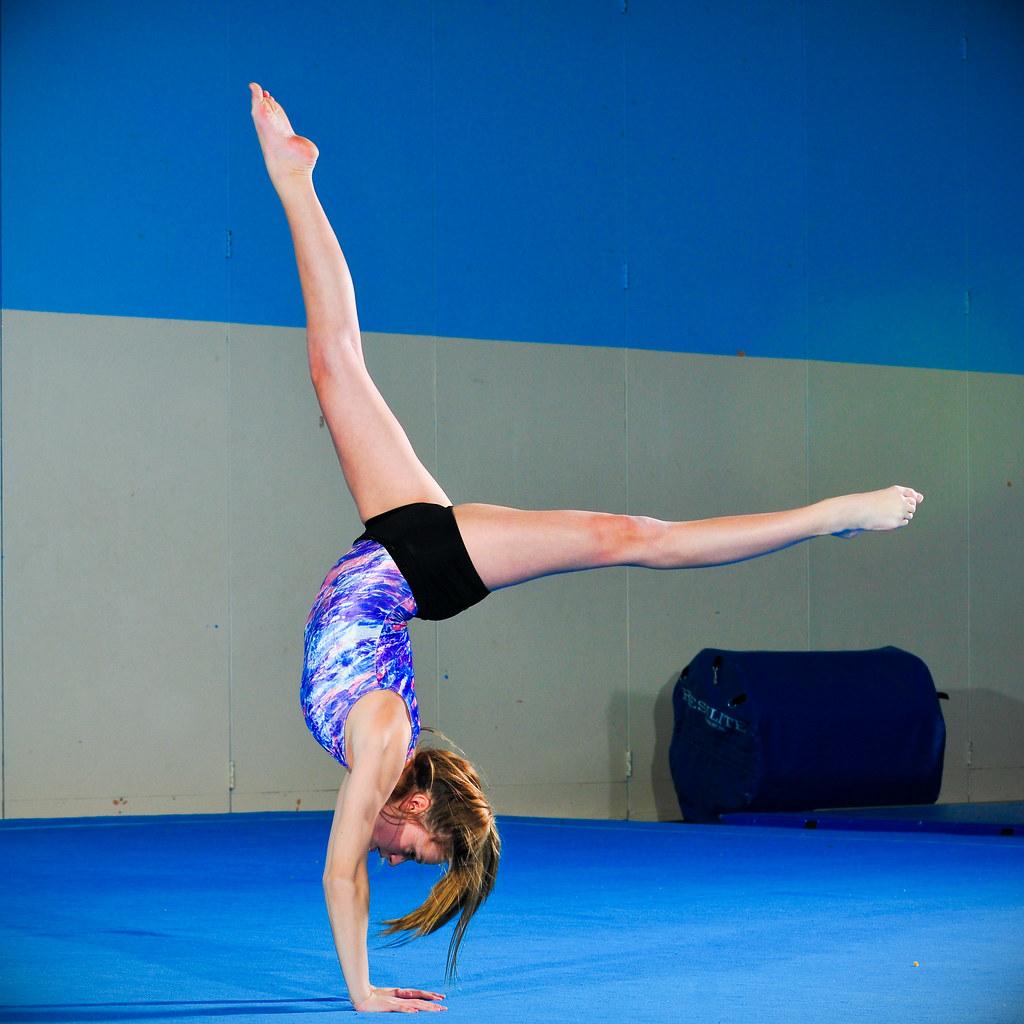 Gymnast on Floor 2