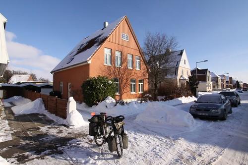 Leaving Goethesvej in Sønderborg, Denmark...