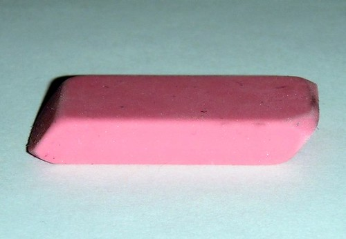 Eraser, by Sarah McKenzie, Creative Commons: Attribution 2.0.