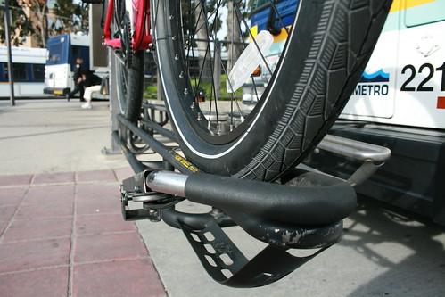 Fat tires and bus bike rack