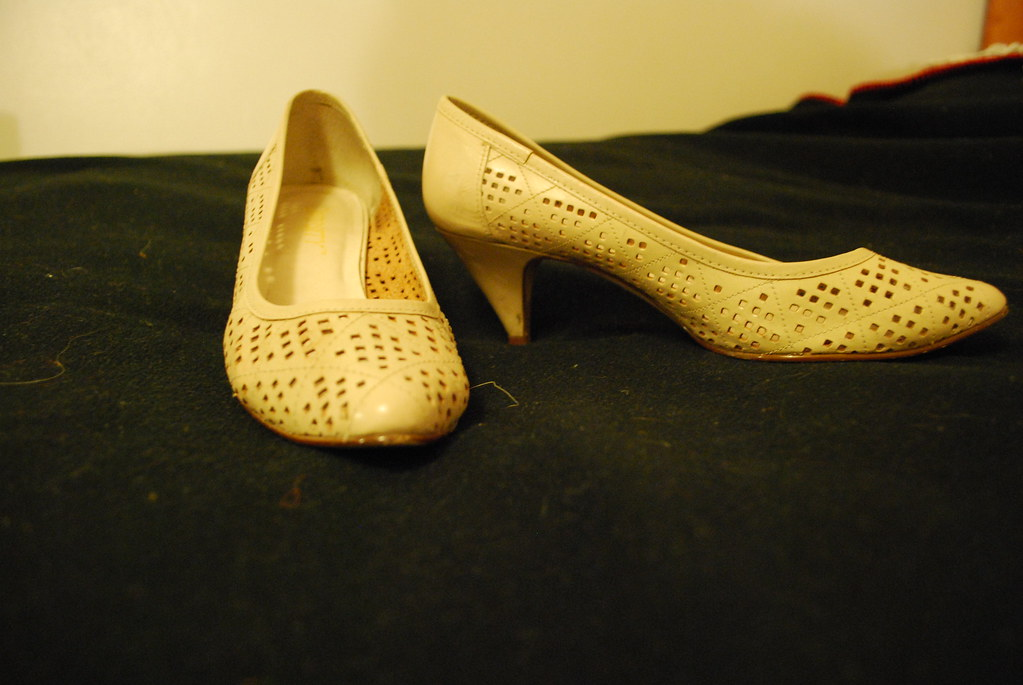 flea market finds: Vintage Shoes