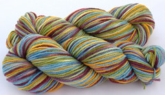 """ Nothing's Impossible"" on Purewool  3-ply (...a time to dye)"