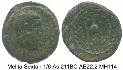 First coins of Malta