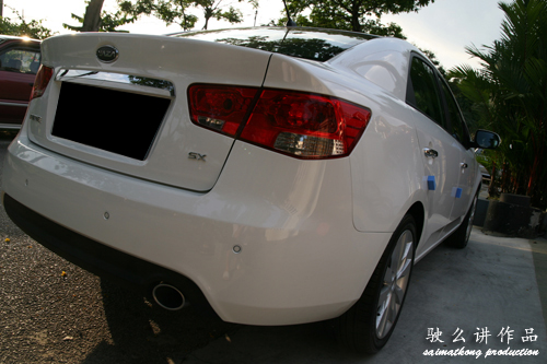 Naza Kia Forte 1.6SX Clear White