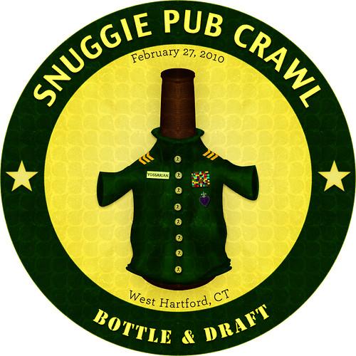 Snuggie Pub Crawl Button