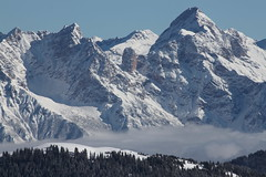 View from the ski slope (Mihai Macarie) Tags: winter ski alps nature austria saalbach hinterglemm eos500d t1i